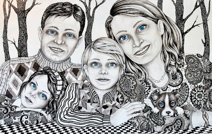 Drawing. One of our favorite features from last year was with Danish artist Julie Nord in the August 2013 issue so we thought we were happy to see that she has...