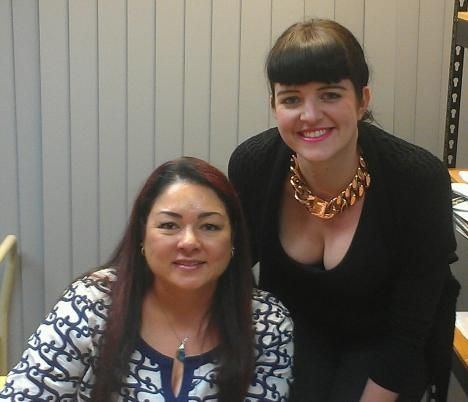 Publishing Phenomenon Sylvia Day dropped by to sign copies of her bestselling book, Entwined With You. Here she is with Booktopia's Romance Specialist, Haylee Nash