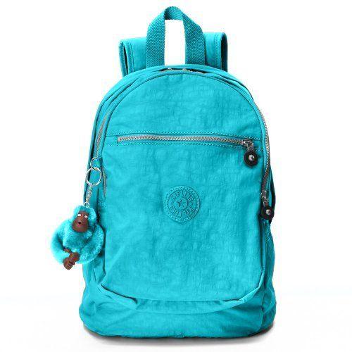 Kipling Luggage Challenger Ii Backpack, Blue Topaz, One Size Kipling. $75.00