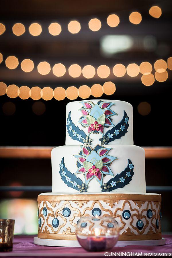 Turkish Inspired Wedding Cake
