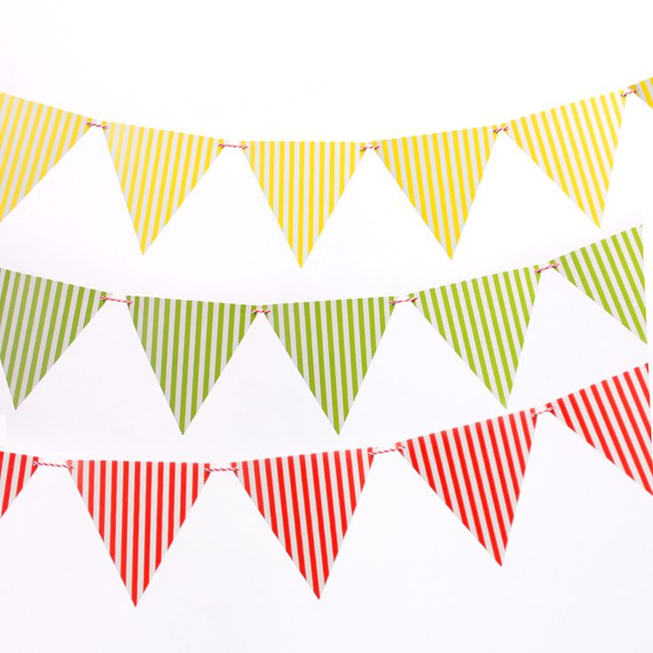 Mother's Day birthday party decorations pennant banners brace  Children's Day Kindergarten classroom arrangement 10 small flags