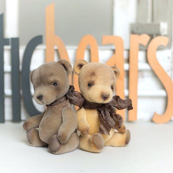 Artist bear Mia Pi collectable handmade miniature by LunaticShop