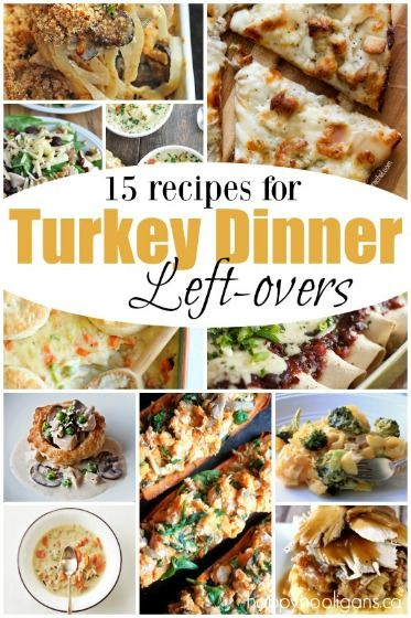 So many creative, delicious ways to use ALL of your turkey leftovers! Turkey soups, turkey casseroles, turkey wraps, turkey pizza, and more! They look so good you'll want to cook a turkey today just so you can make them! - Happy Hooligans