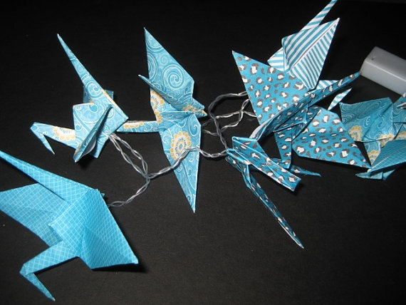 Target Origami String Lights : 1000+ images about Origami String Light on Pinterest Origami cranes, Tulip and Origami