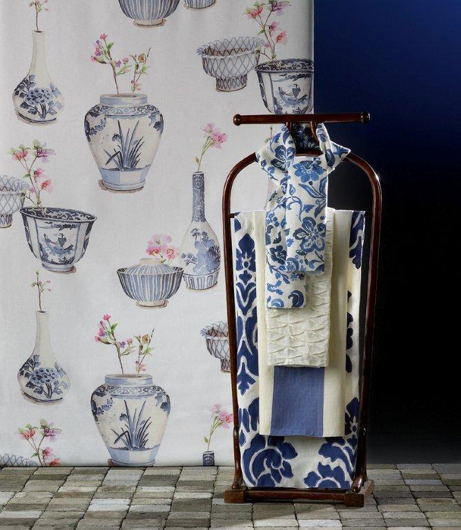 Spice Collection: Jasmine + Pepper + Oregano + Mint + Ginger #lli #lino #linen #madeinbelgium #cortines #cortinas #printed #estampados #estampats #aplicaciones #aplicacions