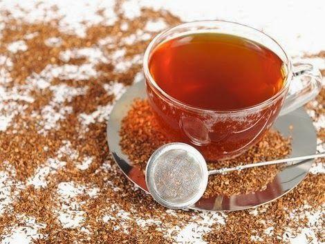 Conheça o chá de rooibos que possui propriedades semelhantes ao chá vermelho (inclusive emagrecimento), mas não possui suas contraindicações.