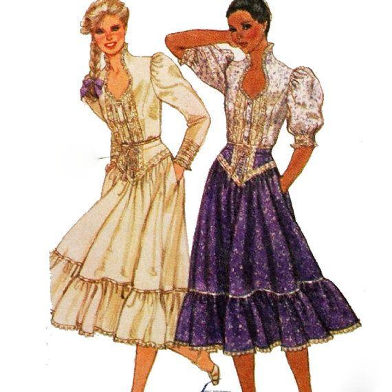 105 Best Images About Renaissance Sewing Patterns On Pinterest: 144 Best Images About Gunne Sax On Pinterest