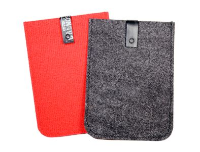 IPAD MINI POCKET made out of recycled fair carpet