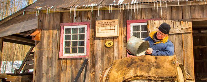 Cabane à sucre, Village Québécois d'Antan Drummondville