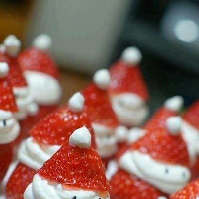 Santa strawberry's