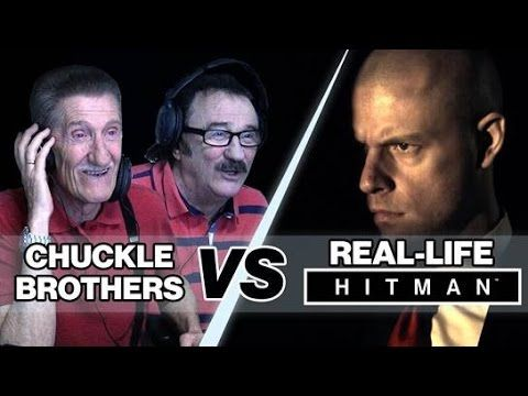 The Chuckle Brothers Play Real Life Hitman
