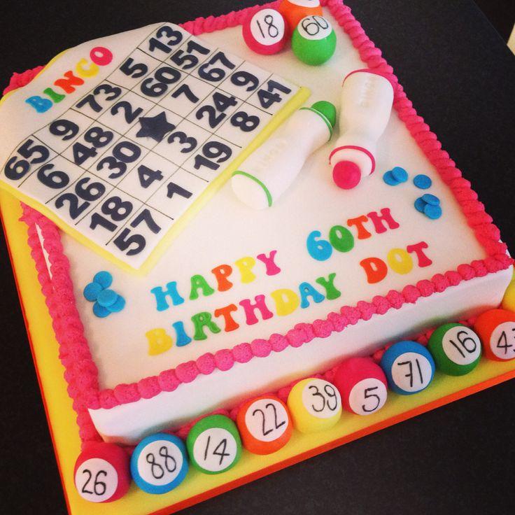 Bingo Cake 90th Birthday PartiesMom BirthdayBirthday CakesBirthday Party