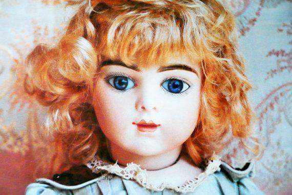 Poster.  Foto bambola antica. Bambola Bru.  Leon di bamboleantiche, €12.00