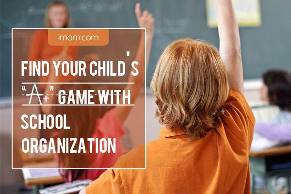 "Find Your Child's ""A "" Game with School Organization. #backtoschool #school #organize"