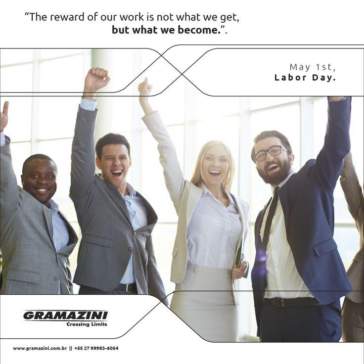 Gramazini congratulates all who believes that the privilege to work is a gift! #success #triumph #victory #Gramaziniteam #Brazil #granite
