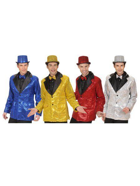 https://11ter11ter.de/61030165.html 70s Disco Boy Jackett mit Glitzerpunkten #11ter11ter #karneval #fasching #kostüm #outfit #fashion #style #party #70s #70er #disco