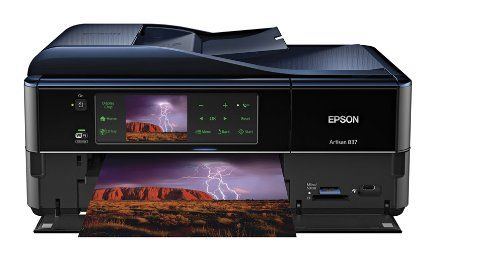 Amazon.com: Epson Artisan 837 Wireless All-in-One Color Inkjet Printer, Copier, Scanner, Fax, iOS/Tablet/Smartphone/AirPrint Compatible (C11CB20201): Computers & Accessories