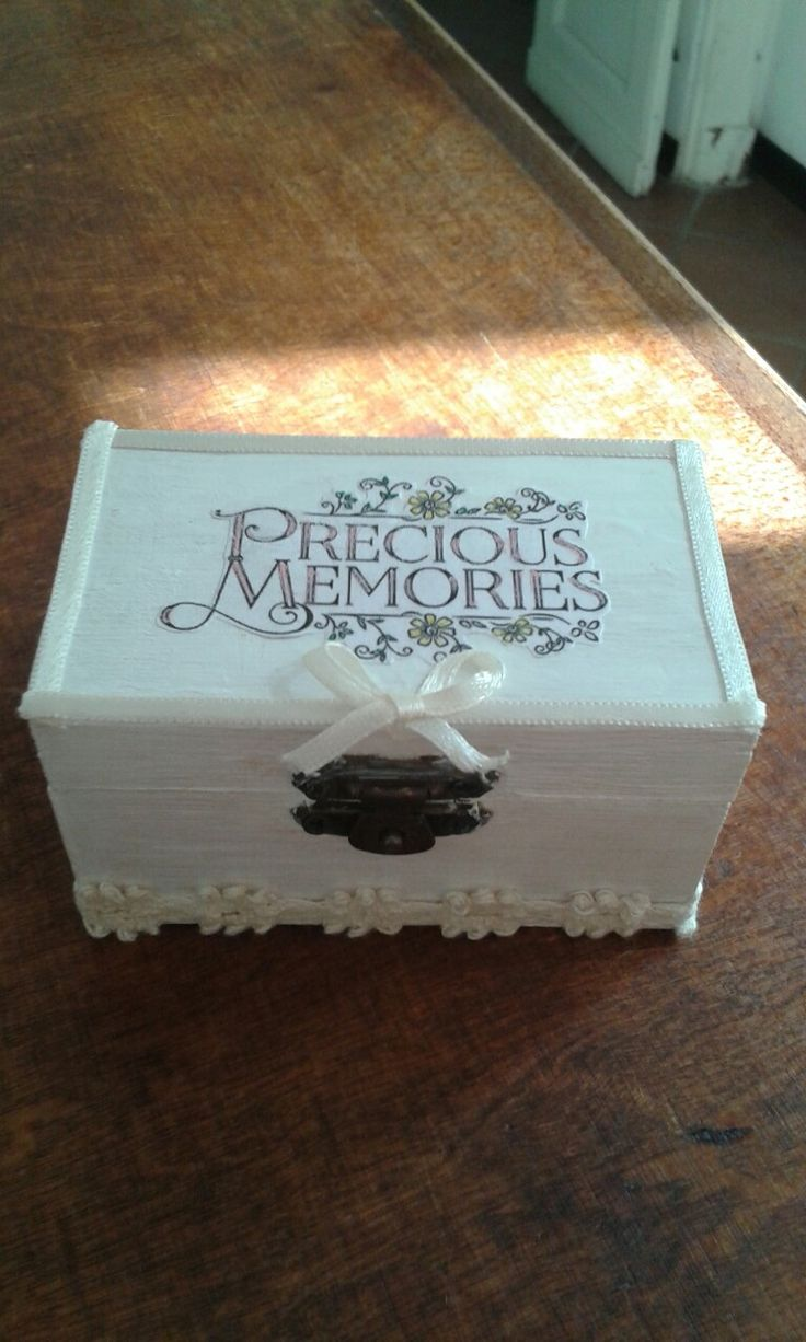 Wedding memory box