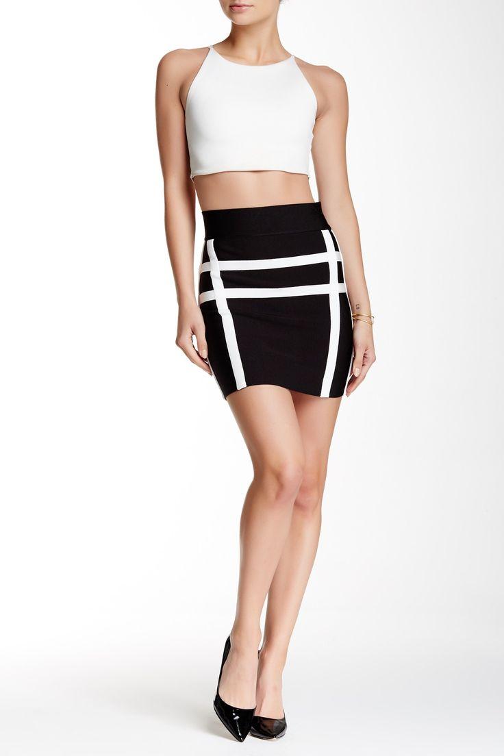 Stripe Bandage Skirt by Vertigo on @nordstrom_rack