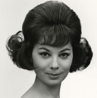 Wella from the 60's! A time of self-expression and experimentation when women were changing their hairstyles at unprecedented rates. #hair #vintage