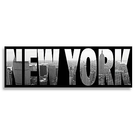 New York Wall Art Bed, Bath & Beyond