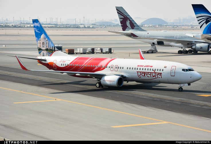 Photo of VT-GHF - Boeing 737-86N - Air India Express