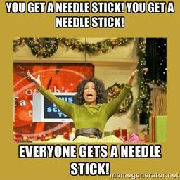 The reality of needle sticks, scalpel stabs and other accidents in the OR. Surgical Technology Humor Blog