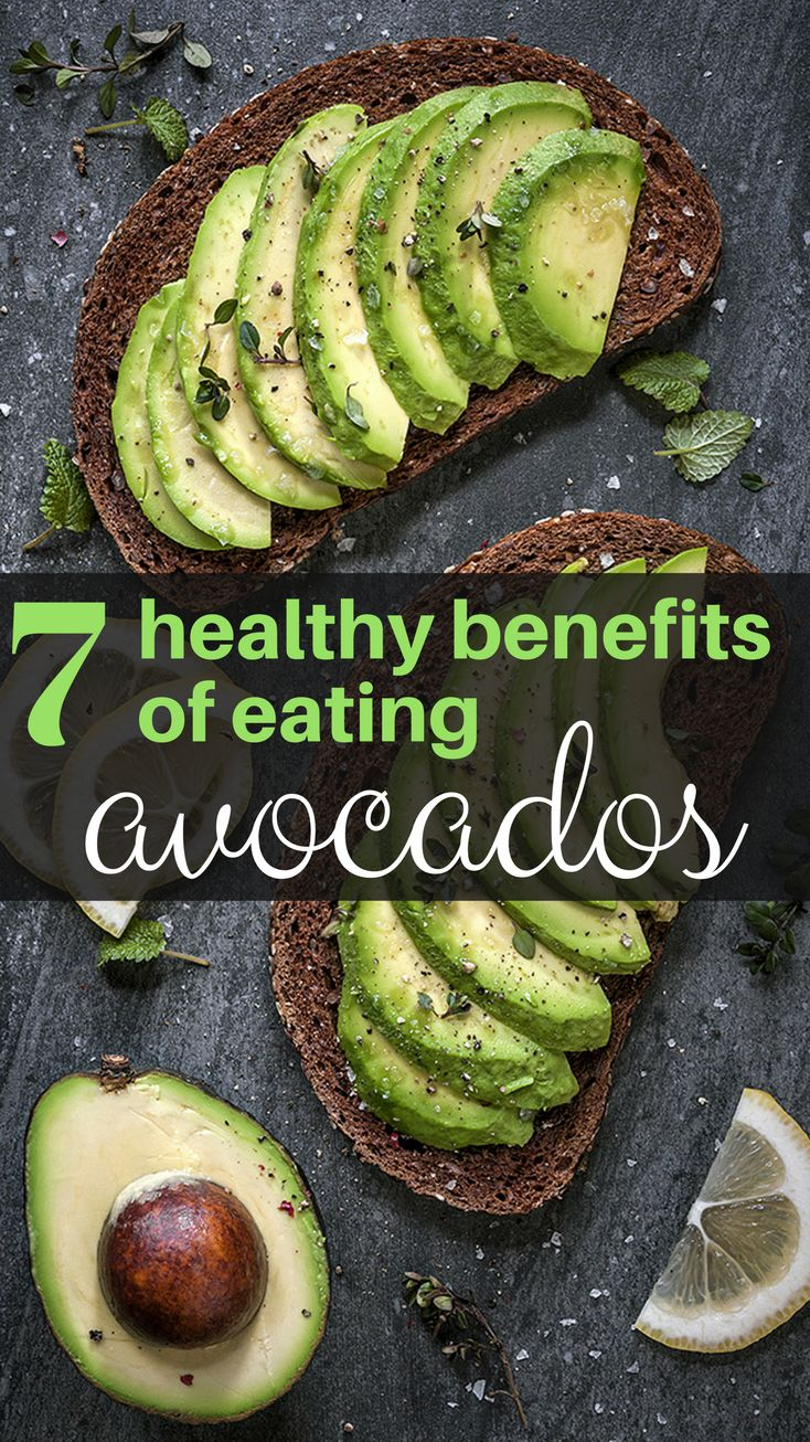 7 Healthy Benefits Of Eating Avocados!