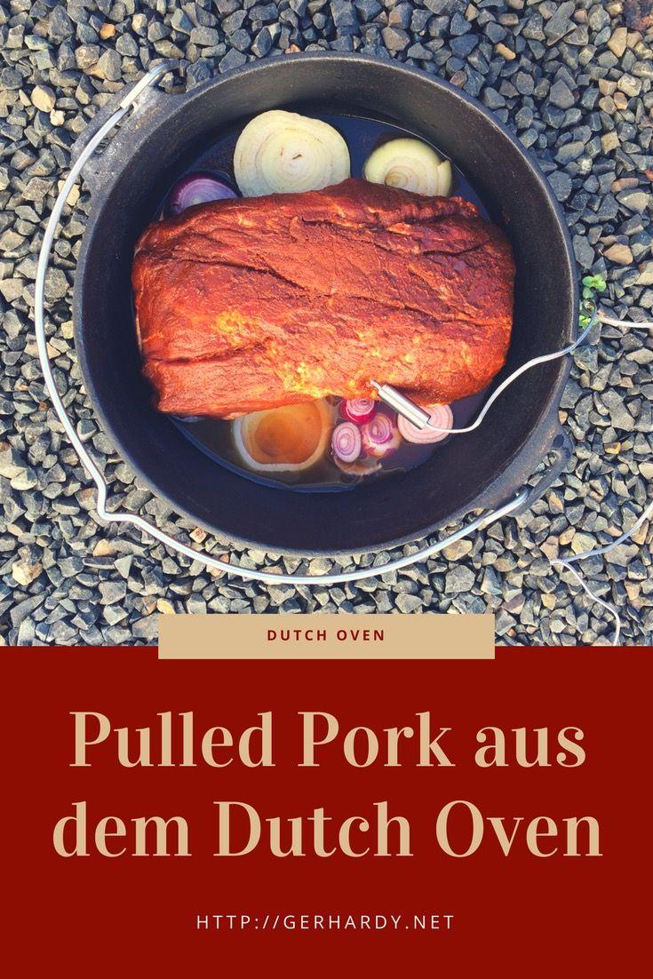 Auf die Schnelle  mal ein leckeres Pulled Pork machen ? Kein Problem mit dem Dutch Oven!