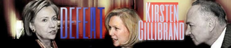 Ever since Kirsten Gillibrand replaced Hillary Clinton, she has marched in lockstep with Harry Reid and Chuck Schumer and accumulated one of the most liberal records in the Senate. She has opposed us at every turn and now it's time to defeat her. https://secure.donationsafe.com/defeatgillibrand