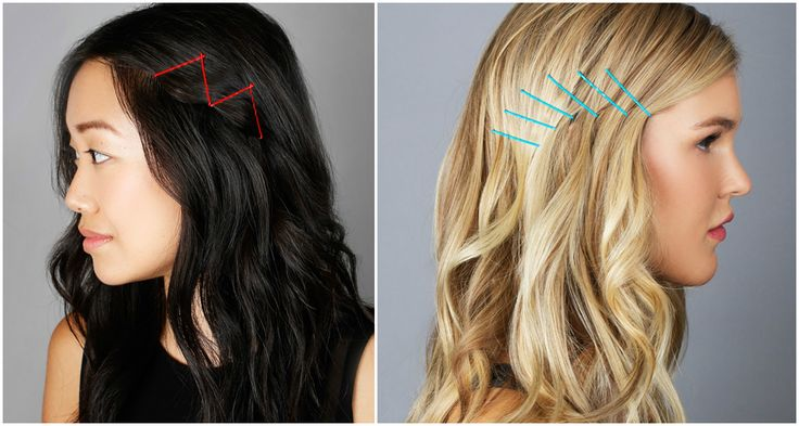 Tel Tokalar ile Saç Modelleri #bobbypins #pin #teltoka #hairstyle #simple #colored #diy #nasılyapılır # howtouse
