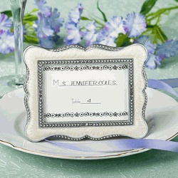 #Vintage Inspired Place Card Holders and Picture Frames