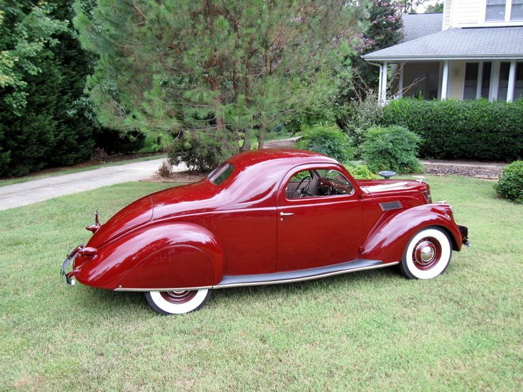 1937 lincoln zephy coupe