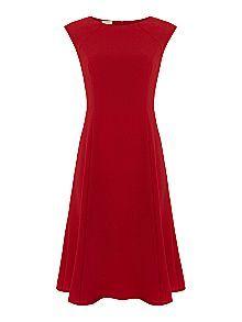 Linea Eileen Crepe Full Skirted Dress Now £69.30 Was £99.00