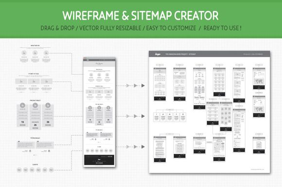 Wireframe and Sitemap Creator @creativework247
