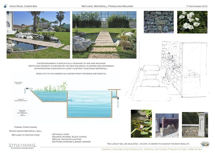 22 best construction details images on pinterest for Koi pond builders cape town