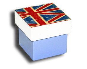 Caixinha MDF - Bandeira - Reino Unido