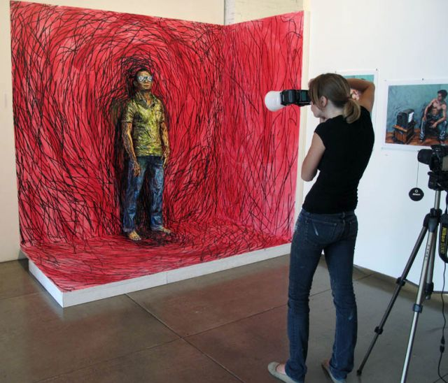 Stunning paintings with real Humans