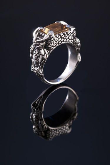 Steph Lusted : Royal Owl Ring