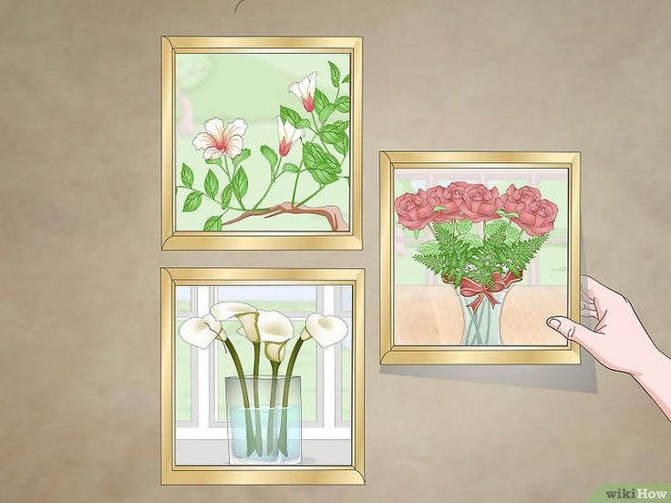 How To Arrange Three Pictures On A Wall 12 Steps With Pictures Picture Arrangements On Wall Picture Gallery Wall Picture Arrangements