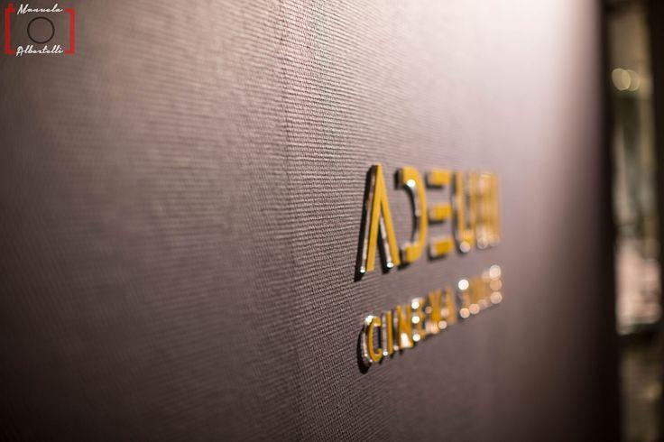 Adeum Cinema logo at Baxter Cinema  Photo is courtesy of Dennis Zoppi and Manuela Albertelli. #BaxterCinema