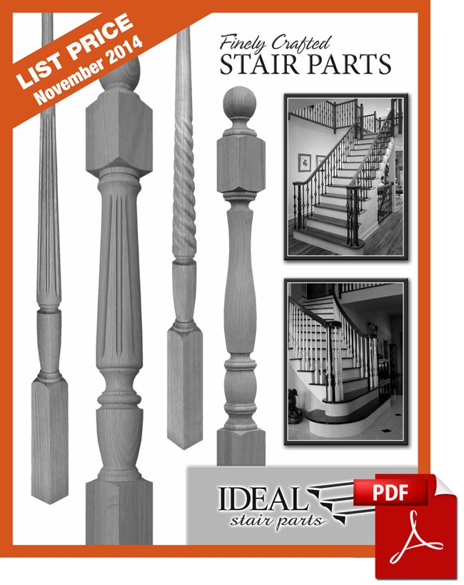 Stair Parts U0026 Covers Catalog   NuStair