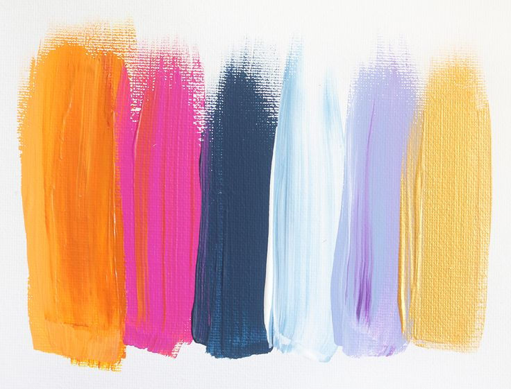 Colors 45 - an original painting by Jen Ramos at Cocoa & Hearts (pinning for color palette)
