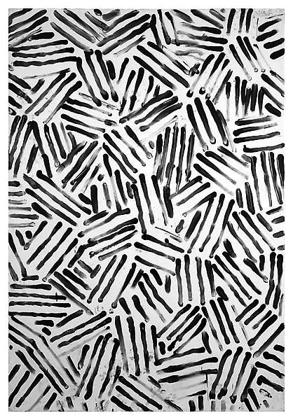 Sketchy monochrome surface pattern design - cool mark-making; hand-drawn pattern inspiration