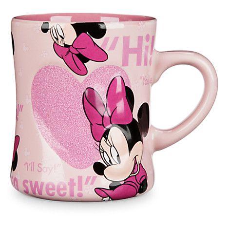 Minnie Mouse Heart Mug