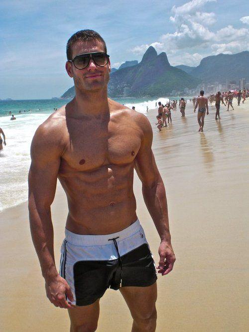 Great beach body!