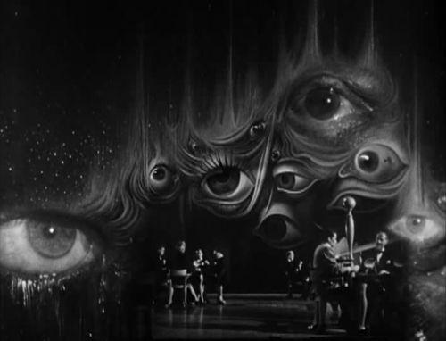 Dali Decoration Set for Spellbound 1945 - Alfred Hitchcock