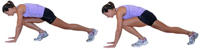 19 Effective Cardio Exercises You Can Do at Home: Mountain Climbers