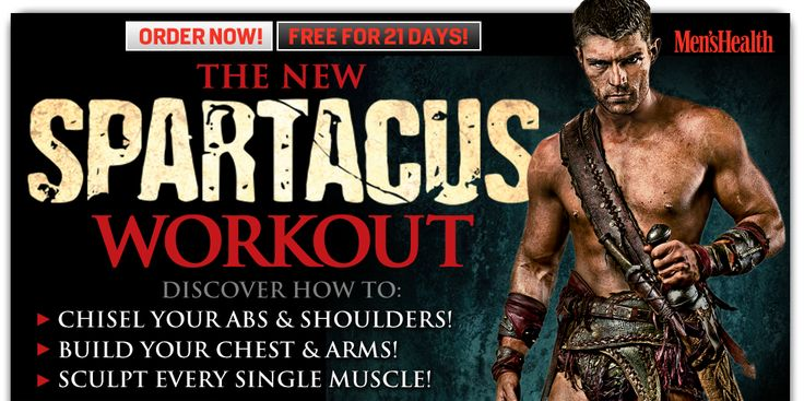 Looks like a fun dvd to mix up your workout.  Let me know anyone who trys it! :) rder The Spartacus Workout Now! FREE for 21 days!