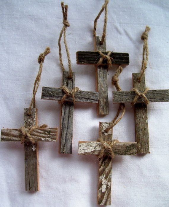 THE PICTURE OF THESE CROSSES ARE REPRESENTATIVE ONLY. YOUR SET WILL NOT BE THESE EXACT CROSSES BUT THEY ARE ALL CREATED FROM THIS SAME BATCH OF WOOD.